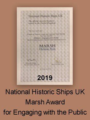 National Historic Ships UK Marsh Award Engaging the Public 2019