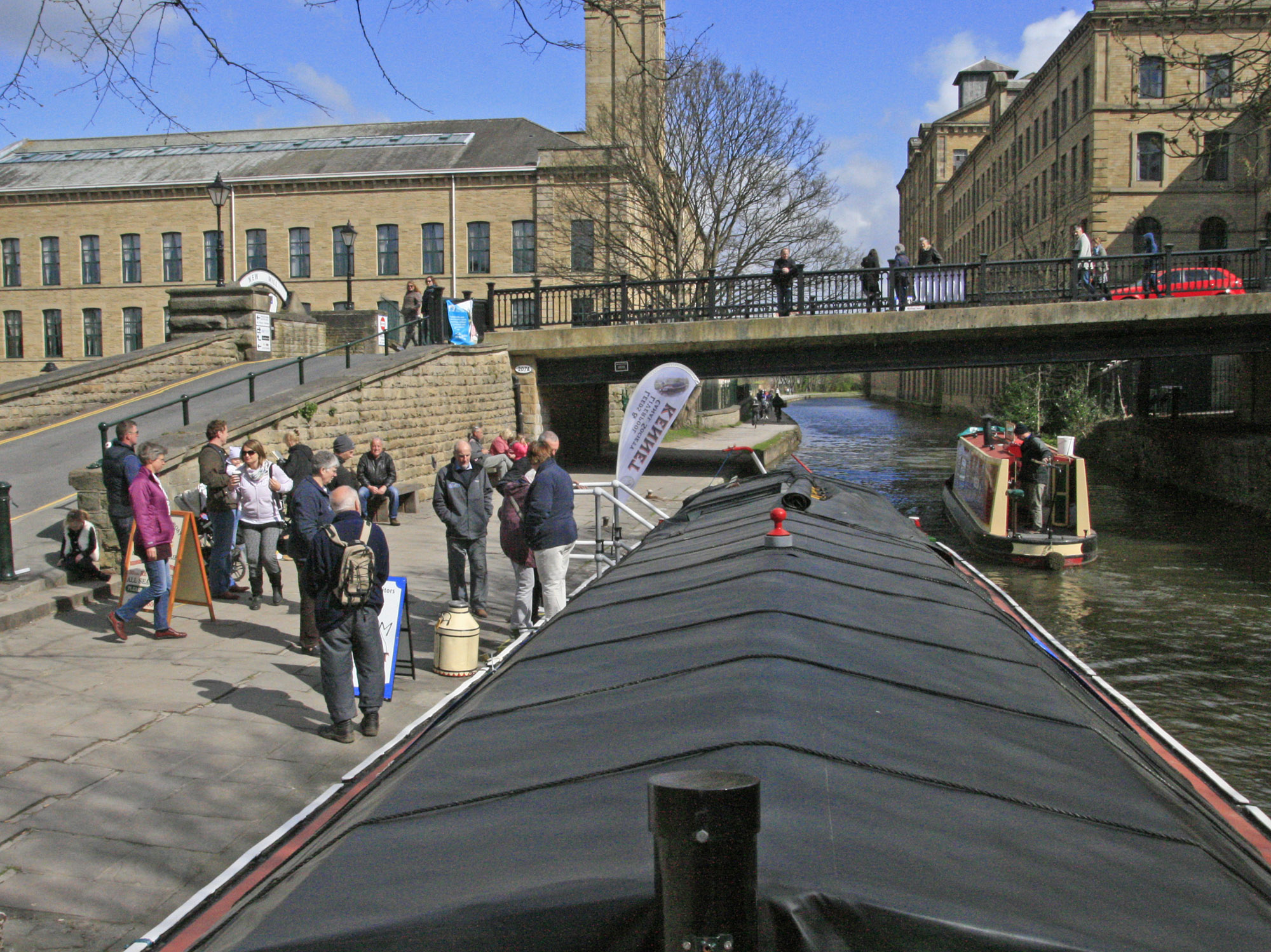 Visiting Saltaire