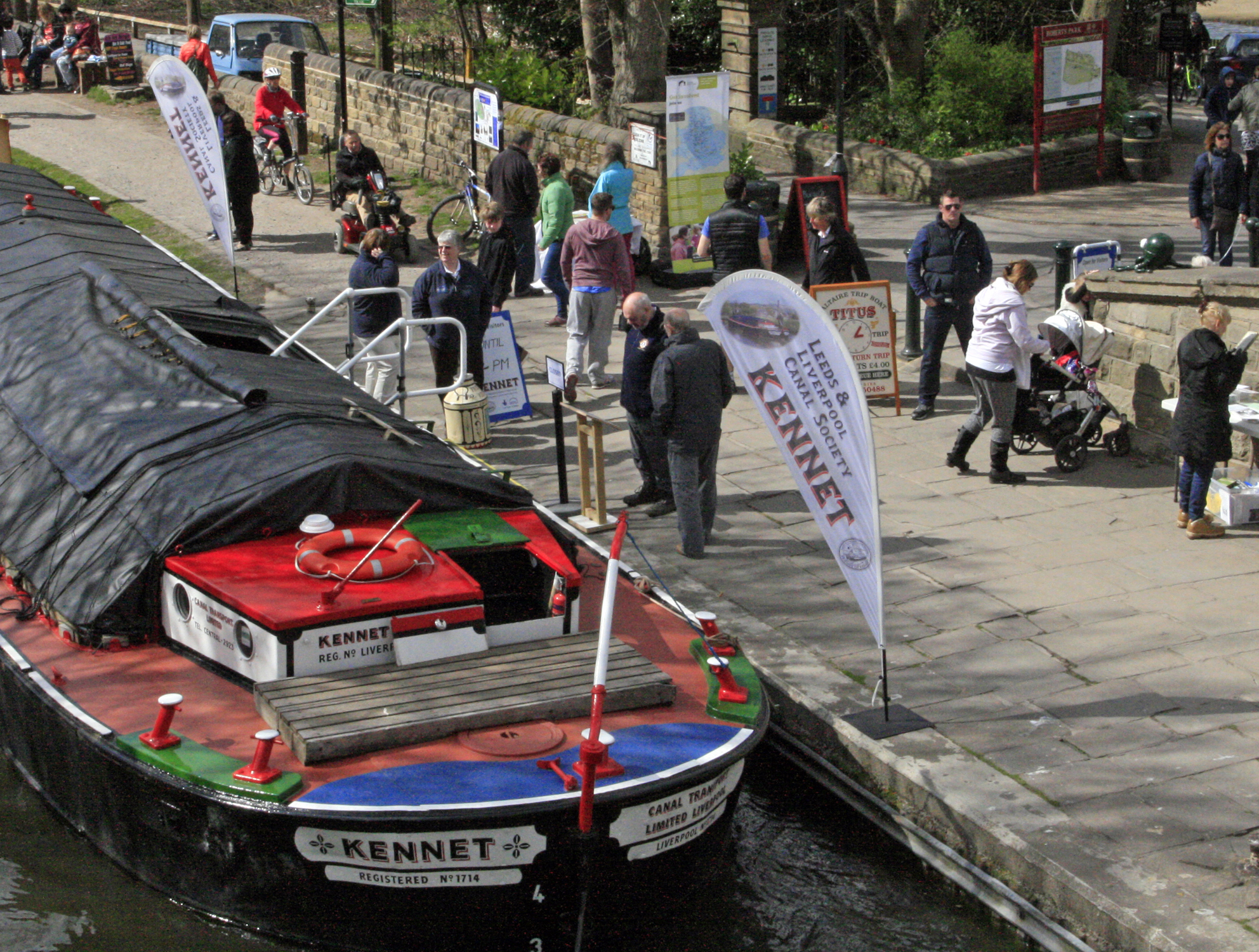 Kennet at Saltaire